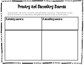 This simple sorting activity is great to review the differences ...