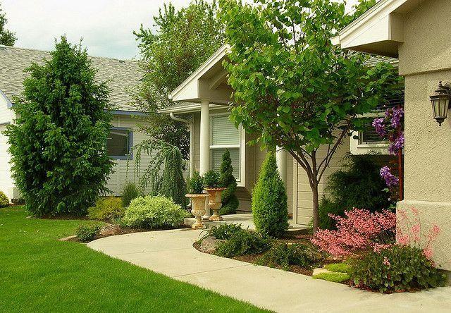 hermosas ideas de paisajismo en el patio trasero Ideas Para El Jardn Frontal De Tu Casa Paisajismo De