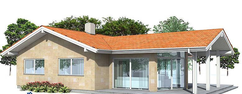 planos de casas pequenas con galerias