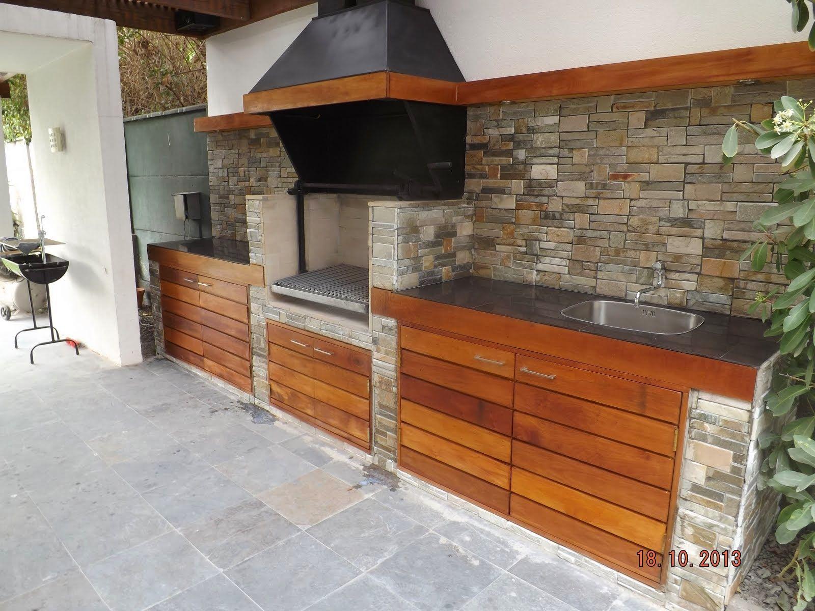 Pergolas y quinchos ideas para el hogar outdoor for Modelos de hogares a lena rusticos