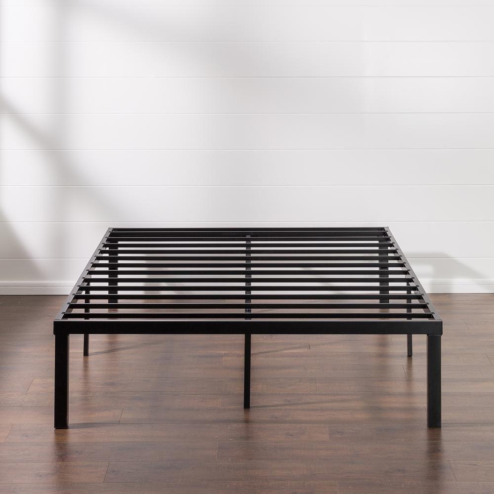 Zinus Luis Quick Lock 16 Inch Metal Platform Bed Frame Twin Hd