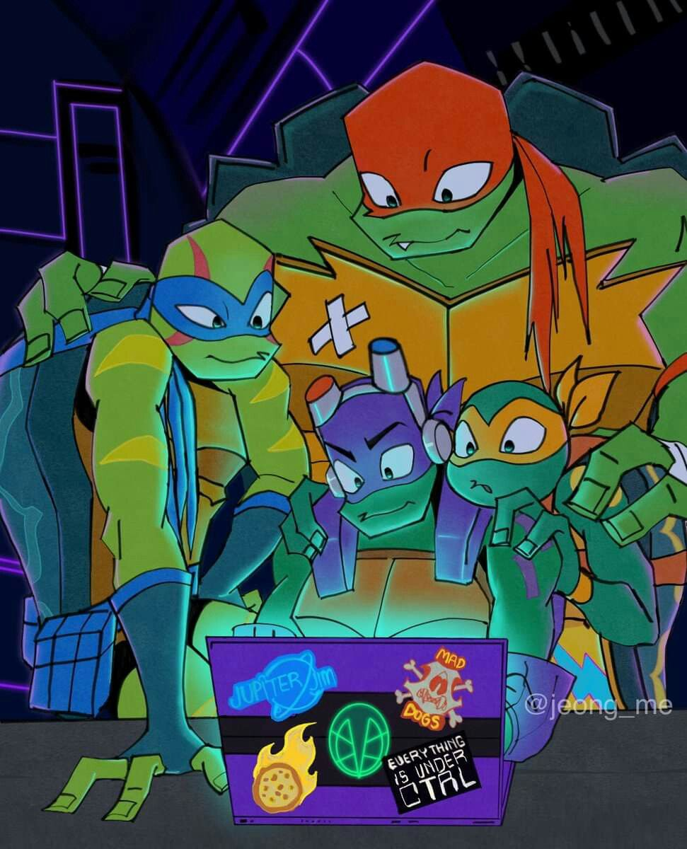 Rot Tmnt Tmnt Art Teenage Ninja Turtles Tmnt Artwork