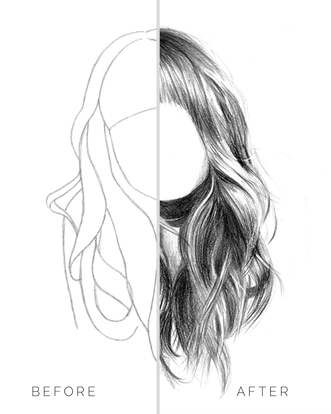 Photo of How to Draw Hair With Pencils