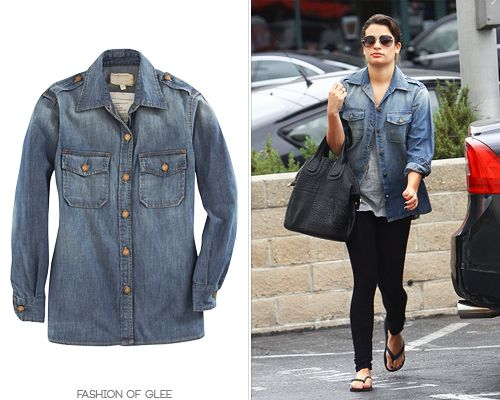 Lea Michele outfit inspiration