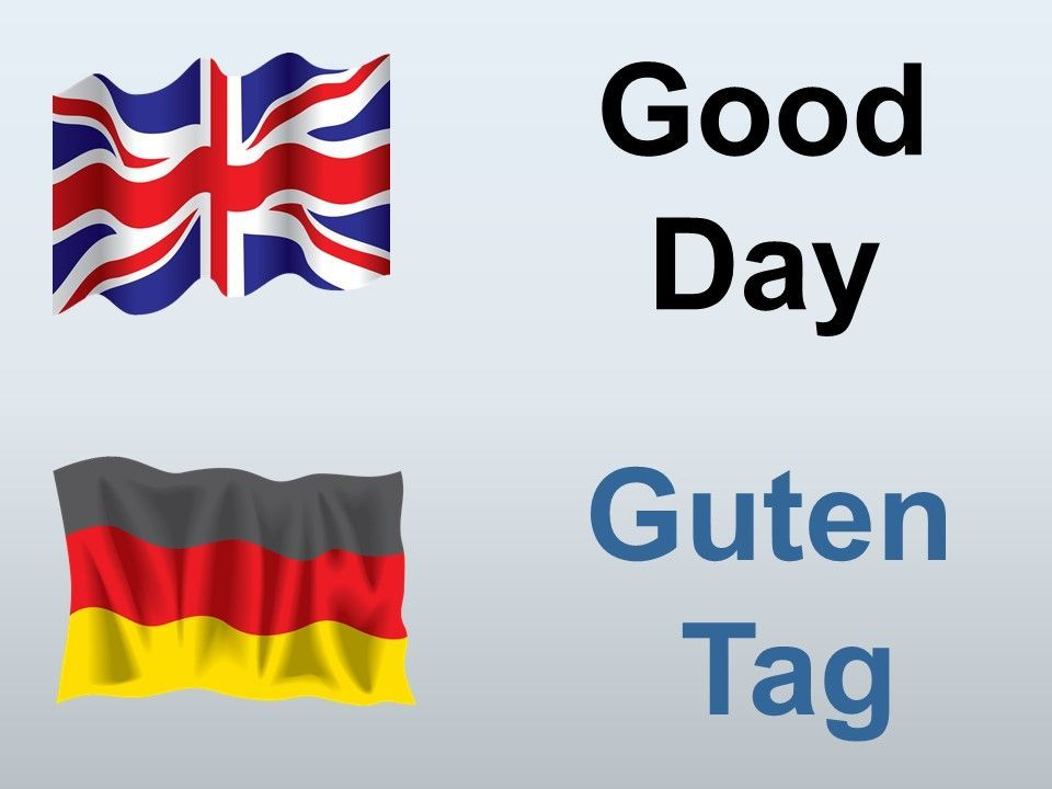 How To Say Good Day In German German Language Learning Travel Phrases German