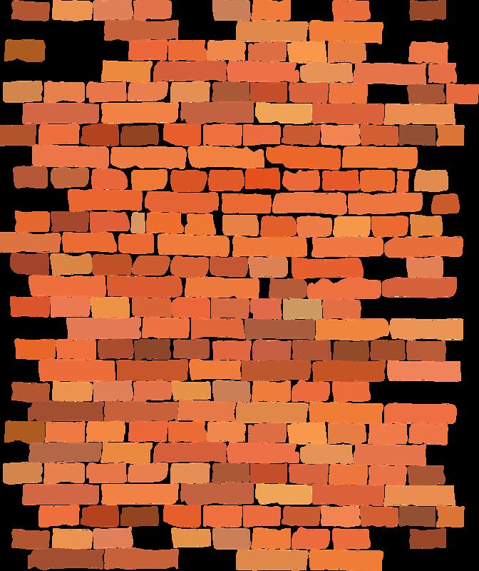 кирпичная стена рисунок красками упаковка нарядно