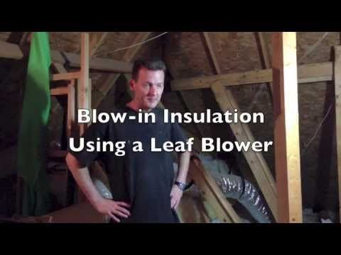 Cellulose insulation how to install blown insulation by yourself blow in insulation is convenient but what if you want to install just one or two bales of the stuff solutioingenieria Gallery