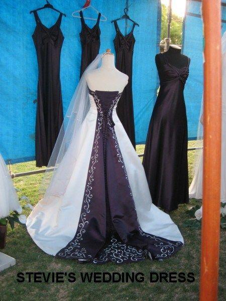 Stevie\'s wedding dress and the bridesmaids dresses | Mcleods ...