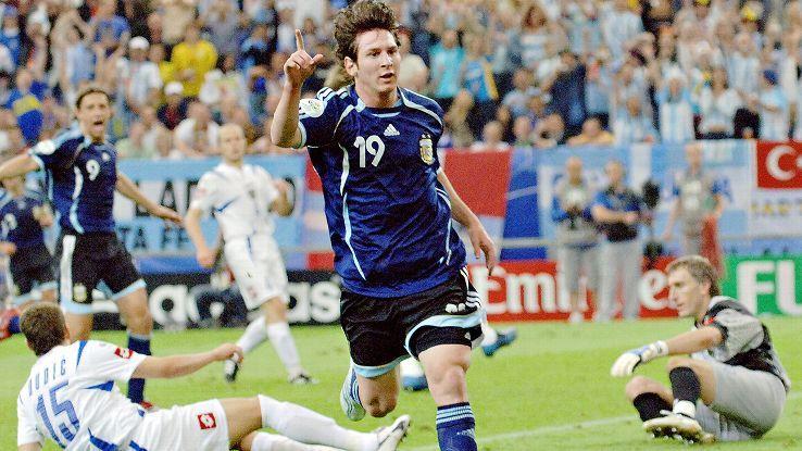 Argentina 6 Serbia Y Montenegro 0 Copa Del Mundo Alemania 2006