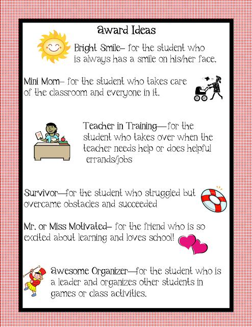 Kindergarten Award Ideas Teaching Preschool Graduation Pre K