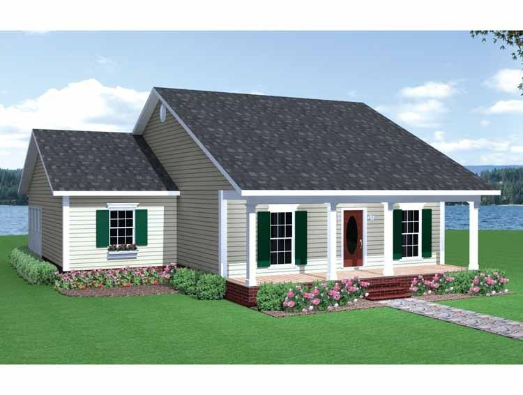 Traditional Style House Plan 3 Beds 1 Baths 1438 Sq Ft Plan 44 150 Tuin