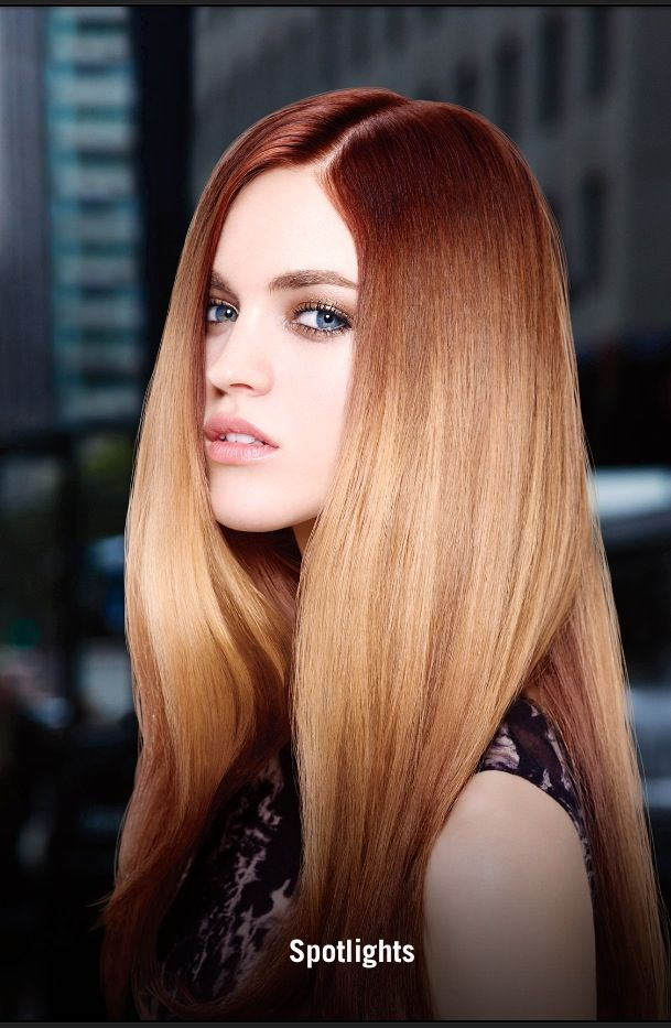 New Hair Color Trend By Redken Called Spotlight A La Neon Light