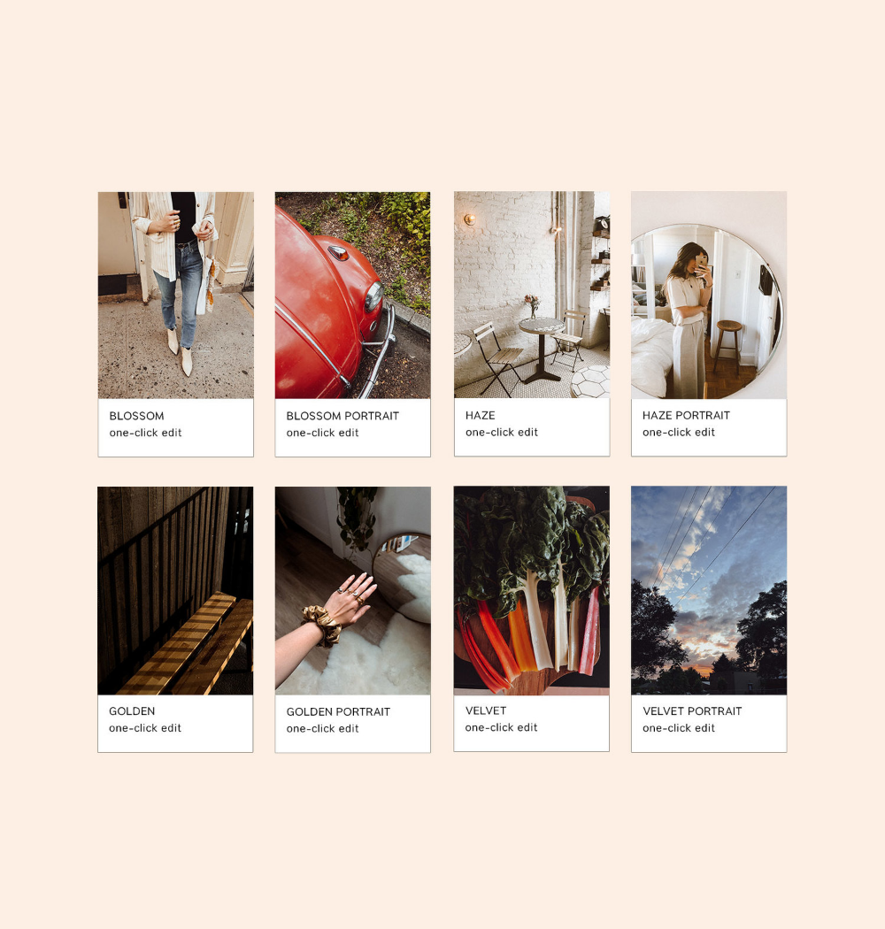 Mobile Presets — Solstice Collection