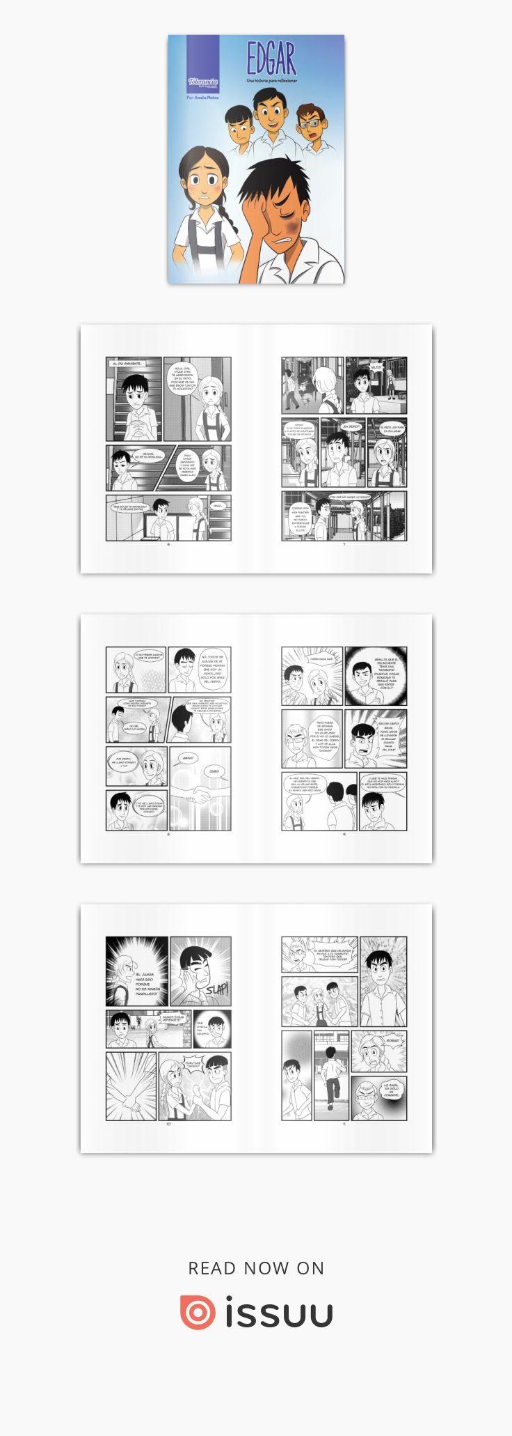 Edgar Comic Sobre La Violencia Escolar En 2019 Bocetos Cómic
