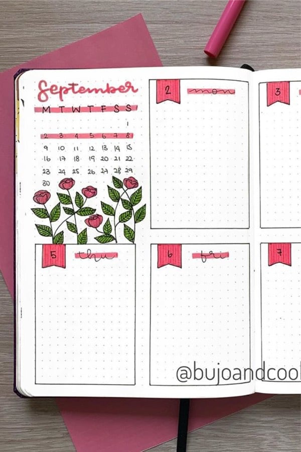 35+ Best September Weekly Spread Ideas For 2020 - Crazy Laura