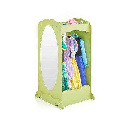 Keep Your Little Oneu0027s Room Or Playroom Neat And Organized With This Kidsu0027 Clothing  Armoire From Guidecraft. This Armoire For Childrenu0027s Clothes Has A ...