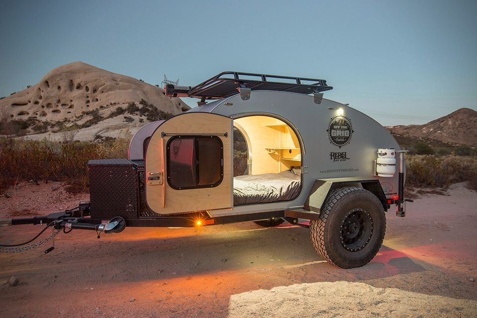 Rent A Rugged Teardrop Trailer For Your Next Camping Trip Off