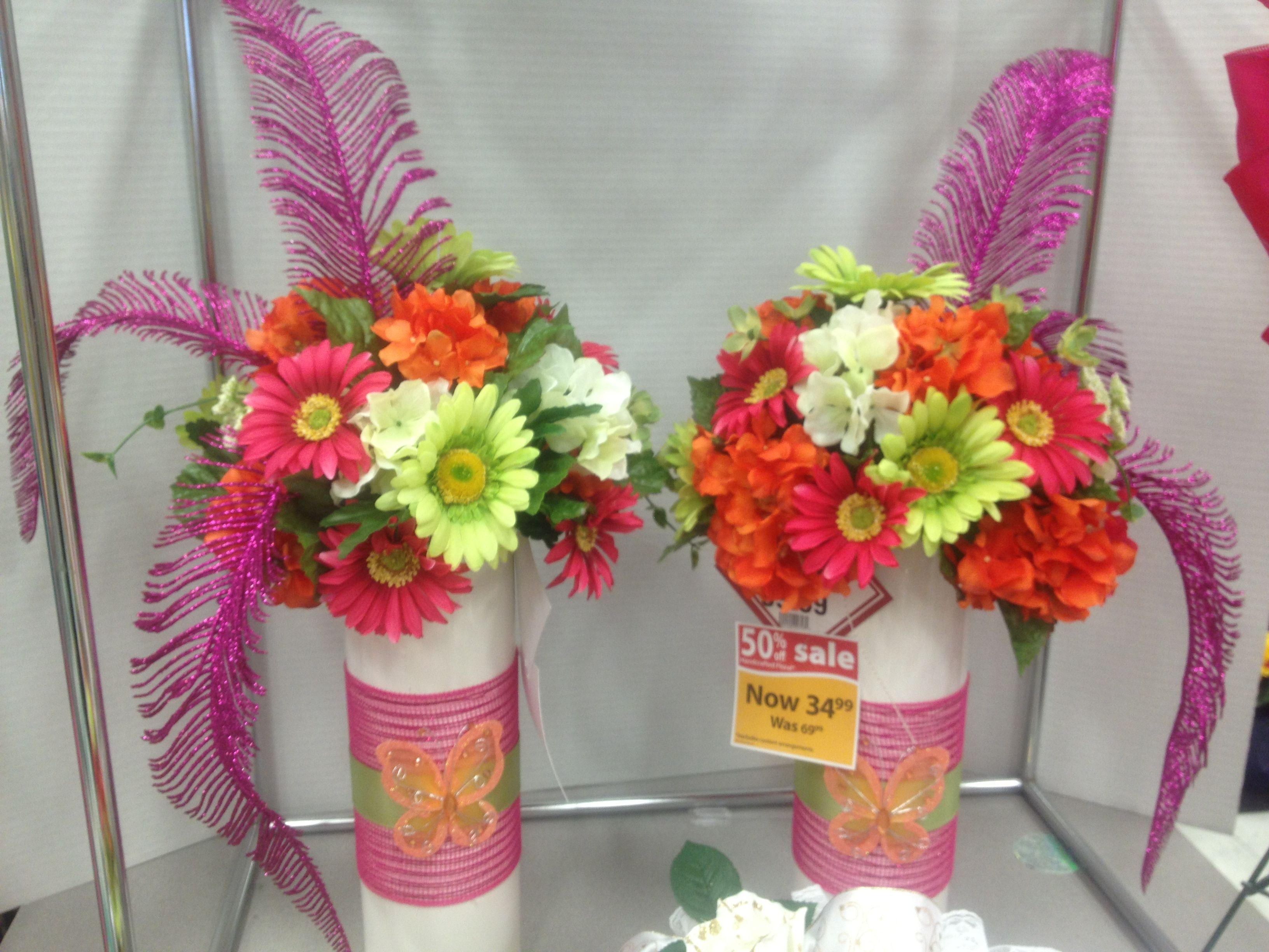 Quinceanera my floral designs michaels pinterest