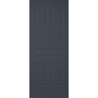 Millennium Collection Encore Slate 5 Panel Arch Top Solid Core Mdf Slab Door Common 36 In X 80 In Actual 36 In X 80 In At Lowes Slab Door Slab Solid Tops