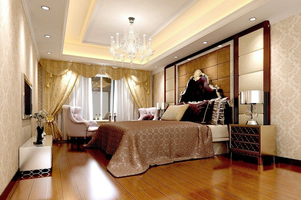 Creative Bedroom Lights Decorations With Wonderful False Ceiling And Bamboo  Floors Ideas