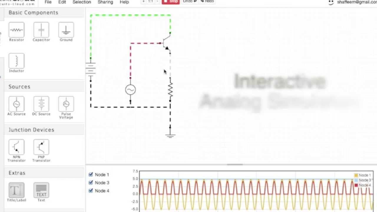 circuits cloud is online free digital/analog circuits simulator http ...