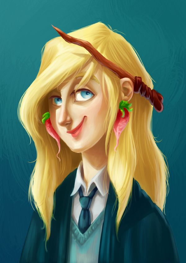 Miss Lovegood By Keepsake20 Deviantart Com On Deviantart Harry Potter Fan Art Luna Lovegood Art Harry Potter Art