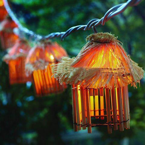 Tiki Hut String Light Outdoor Lights Party Lihght Led Supplier
