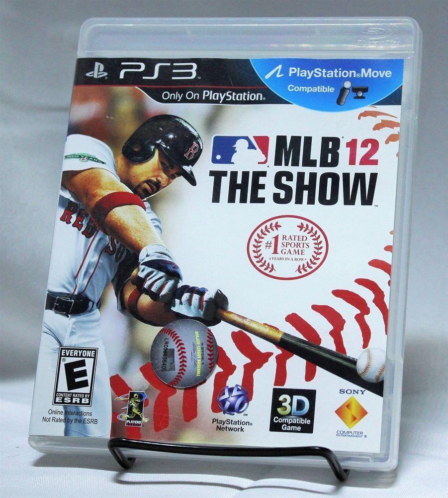 MLB The Show 12 PS3 Playstation 3 Major League Baseball