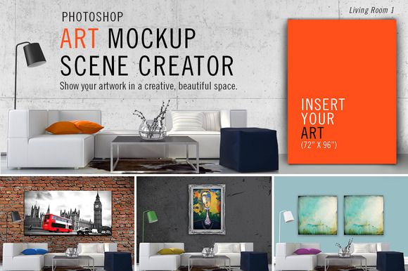 Art Mockup Scene Creator Lr1 Design Mockup Free Mockup Free Psd Mockup