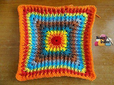 Lior\'s Granny Square, free crochet pattern with video and photo ...
