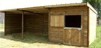 abri chevaux box chevaux cheval