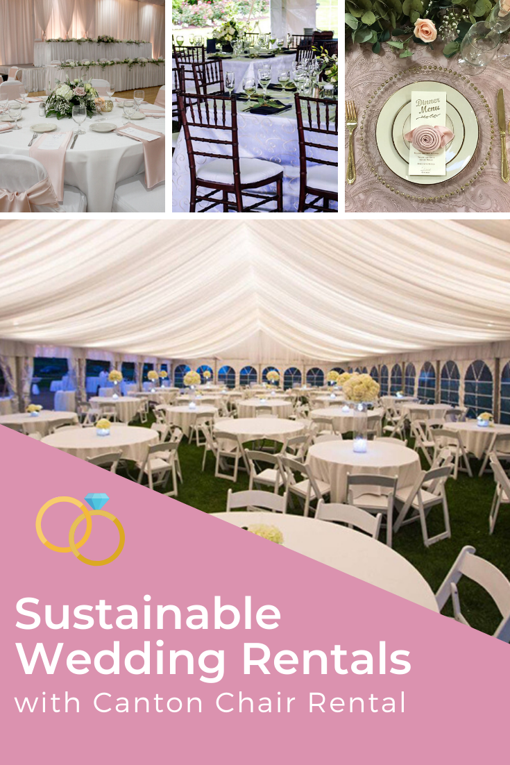 Canton Chair Rental Today S Bride In 2020 Wedding Rentals Sustainable Wedding Wedding Chairs