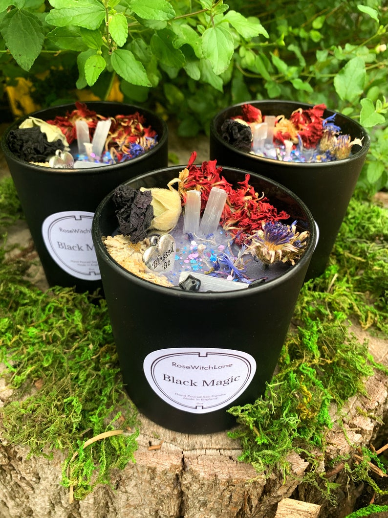 Black Magic Candle / Witch Candle/ Witchcraft Supplies ...