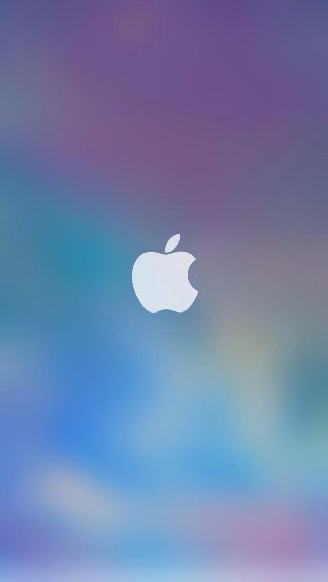 Apple blur Apple wallpaper, Apple logo wallpaper, Iphone