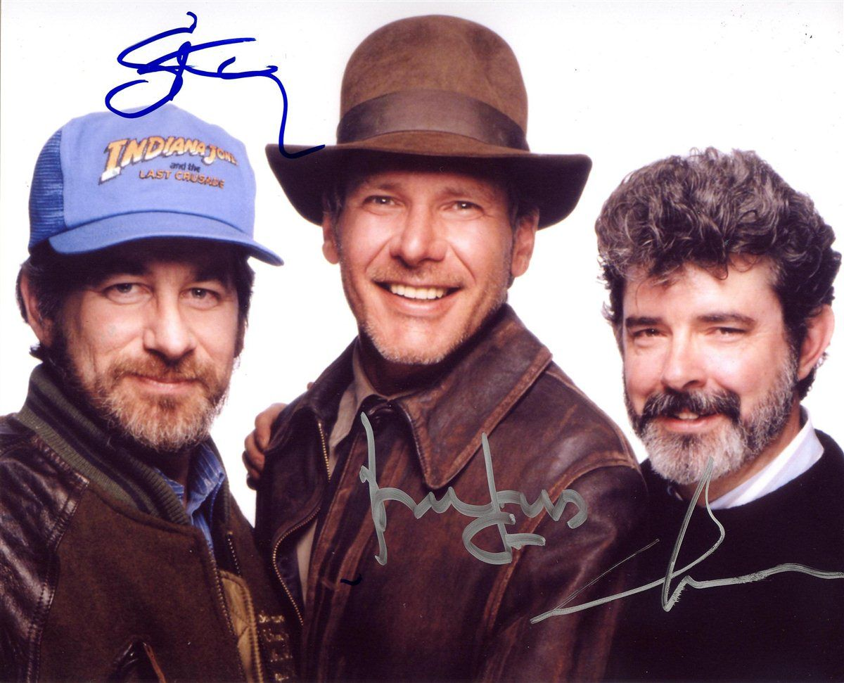 Director Steven Spielberg Harrison Ford Indiana Jones Producer George Lucas Ind Harrison Ford Indiana Jones Indiana Jones Films Indiana Jones Adventure