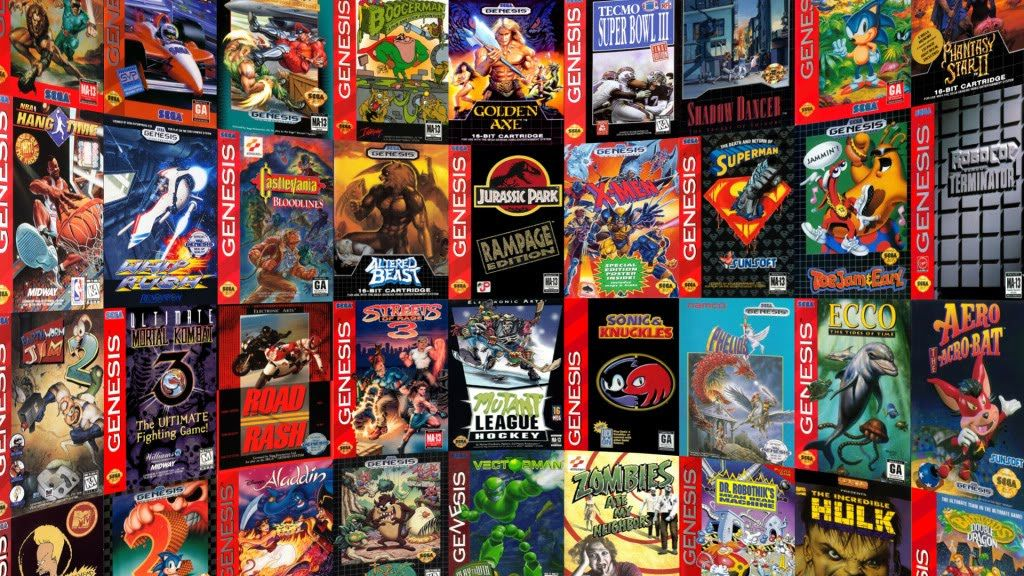 Sega Genesis. Would be quite a collection. Sega genesis