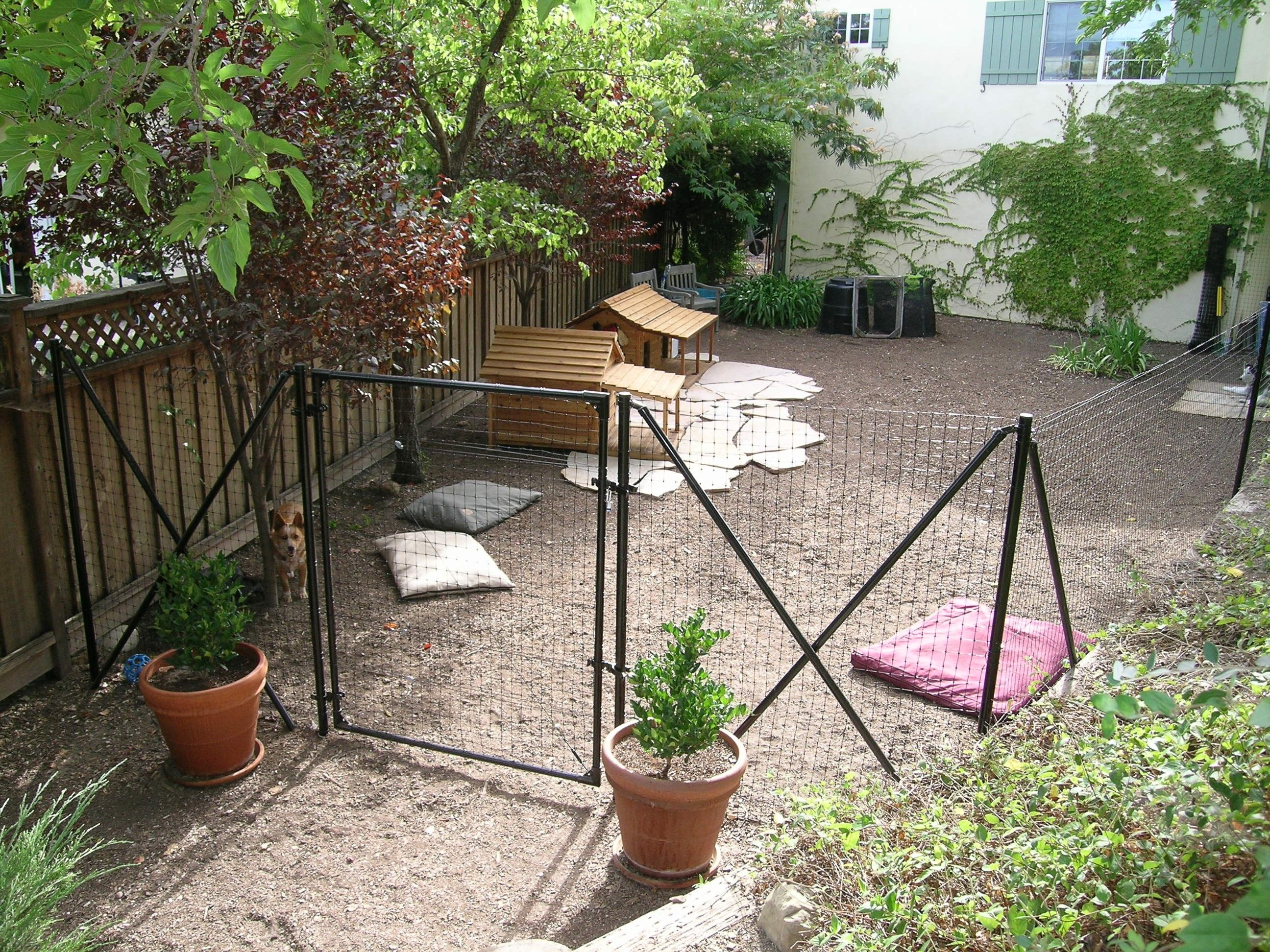 Backyard Dog Fence Ideas dog fence and deck Heres A Cost Dog Fence Kit Which Is An Effective Way To Enclose Your Back Yard