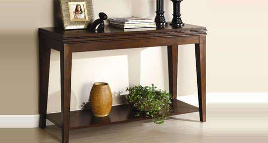 Pune Wood Sofa Table Console Table Sofa End Tables