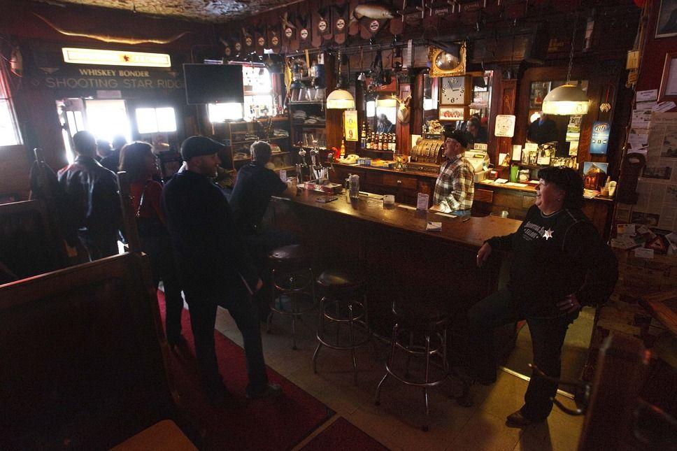 The Shooting Star Saloon in Huntsville is Utah's oldest