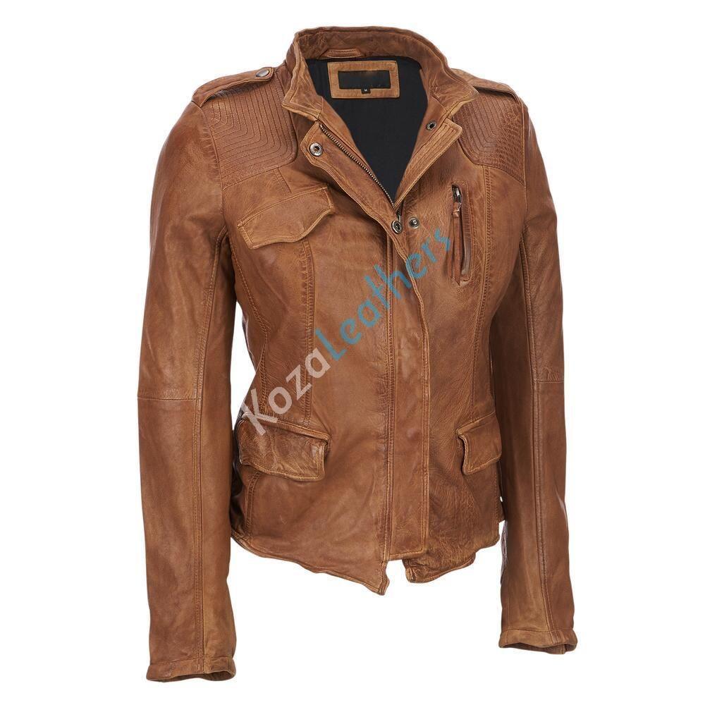 Koza Leathers Women S Real Lambskin Leather Bomber Jacket Kw117 In 2020 Leather Bomber Jacket Leather Jacket Leather Outerwear [ 1000 x 1000 Pixel ]