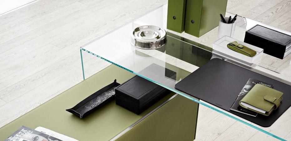 Rialto: Schreibtisch Glas Von Fiam | Gute Ideen | Pinterest | Italienische  Designermöbel, Meisterstück Und Italienisch