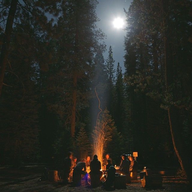 Photo of Weekend 1440 Project – Campsites at Night – REI Co-op Journal