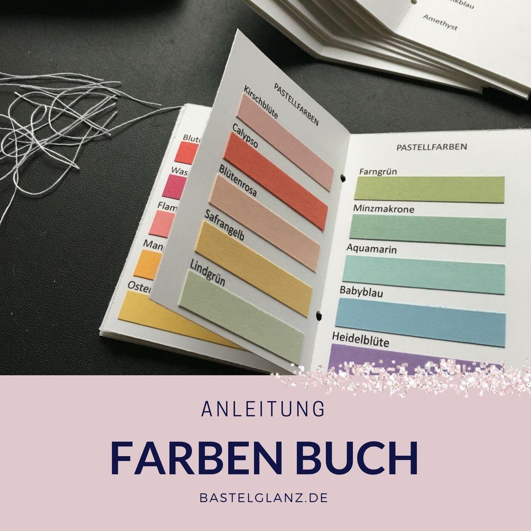 Anleitung für das Farben Buch mit den neuen Stampin up farben ...