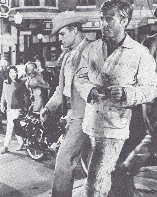 Marlon Brando and Robert Redford, The Chase (1966)