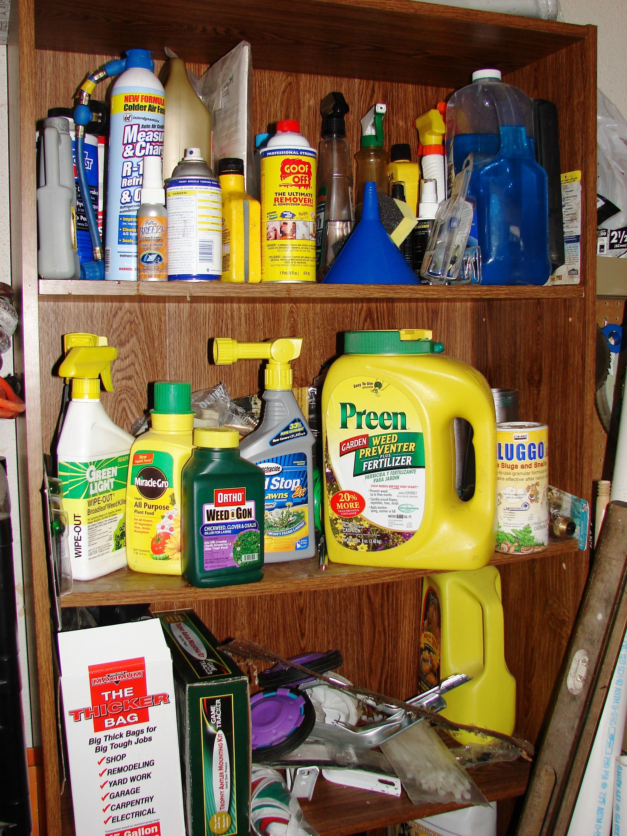 Poison Dangers around the house Job shop, Fire safety