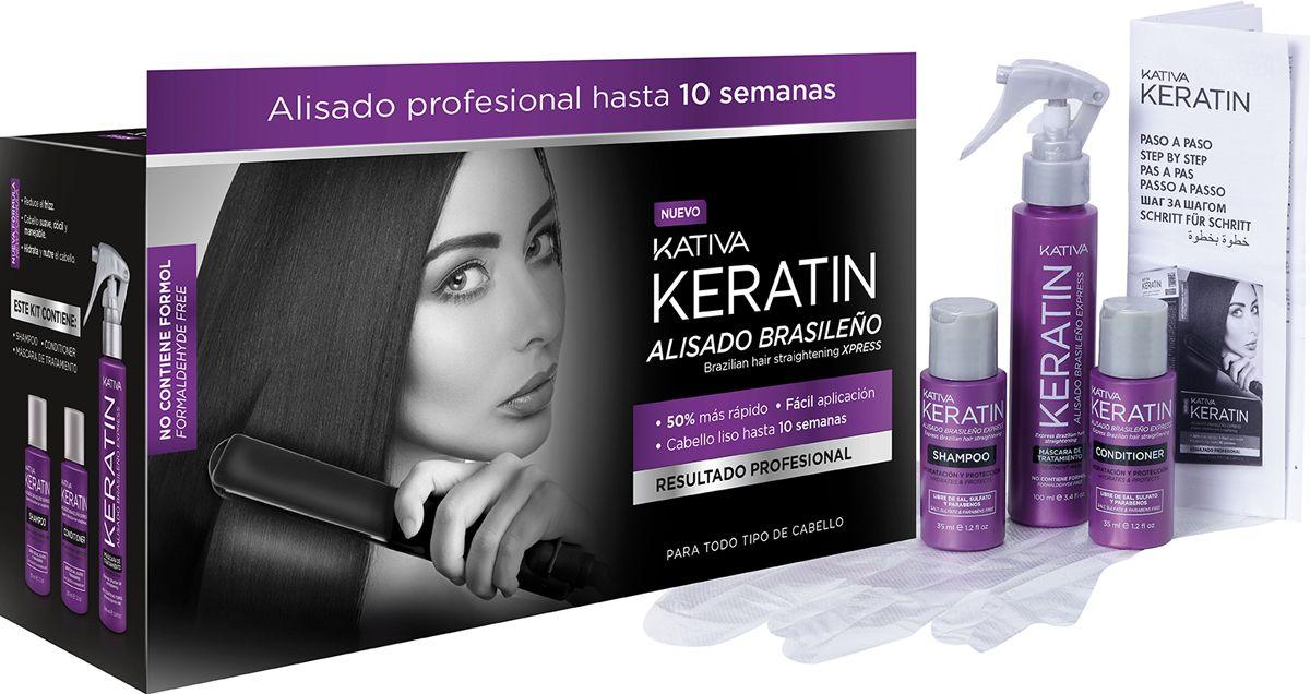 Kativa Keratin Alisado Brasileno Alisar El Pelo Productos Para