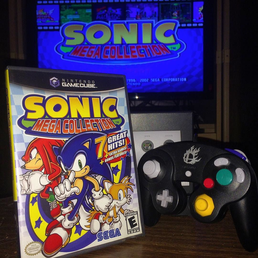On instagram by geeksgames #retrogames #microhobbit (o) http://ift.tt/22Y4TKi is sonic mega collection for gamecube i really enjoy playing the old sonic games such nostalgia!!  #games #gamers #gaming #gaminglife #game #gameon #nintendo #nintendo64 #igersnintendo #ninstagram #nintendolife #segalife #retro #retrogamers  #retrogaming #retrocollective #retrocommunity #amiibo #snes #nes #gamerguys #gamergirls #girlswhogame #guyswhogame #geekunion #xboxone #ps4