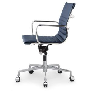 Desk Chairs Navy Swivel Chair Leather Blue Office Within Measurements 3000 X Club Were Originally De
