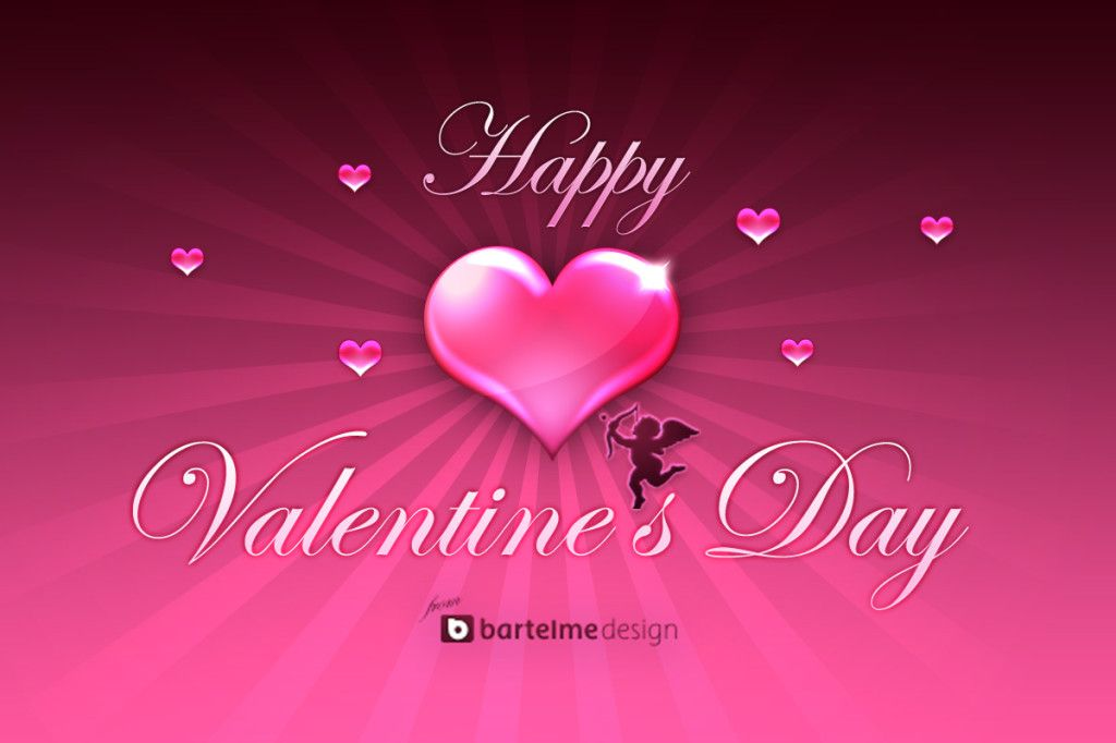 Valentines Day Free Wallpaper 1024x682 Beautiful 2014 Valentine\'s ...