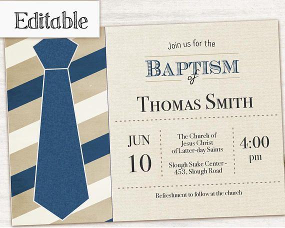 baptism invitation editable pdf boy editable file boy invitation